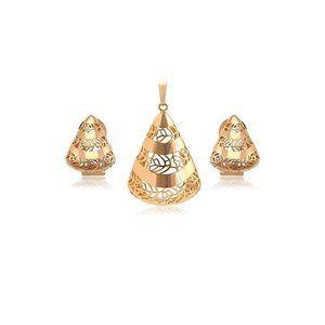 Charles Delon Pendant Earrings Set for Women